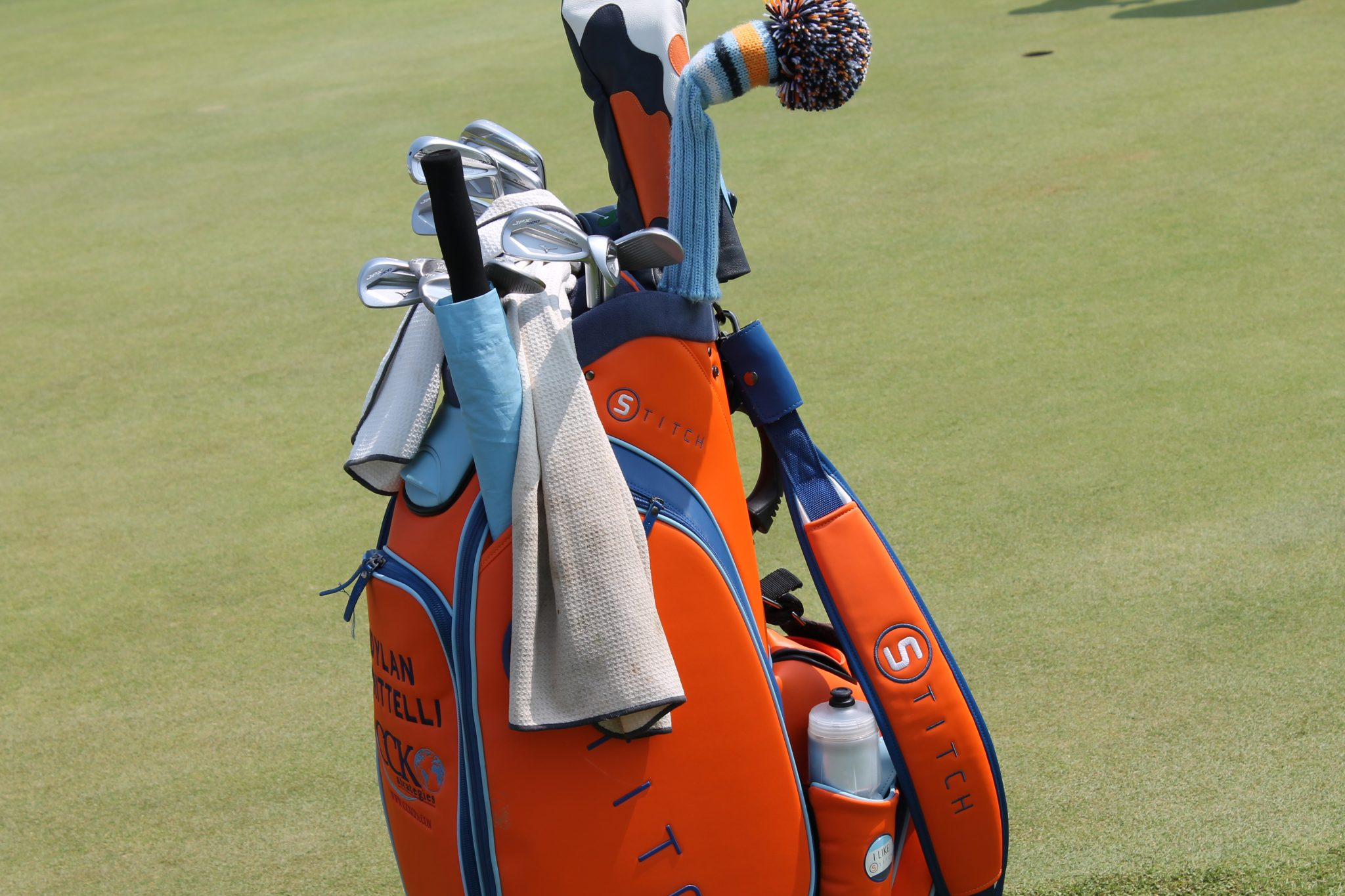 Dillan Frittelly's golf bag