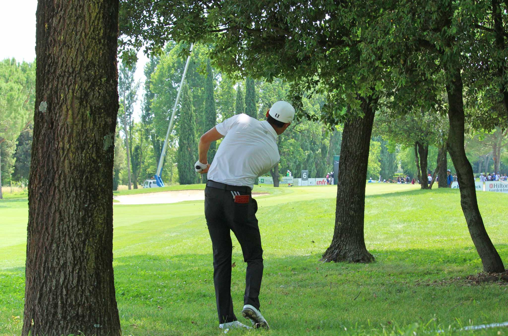 Haotong Li leads before the final round in Turkey