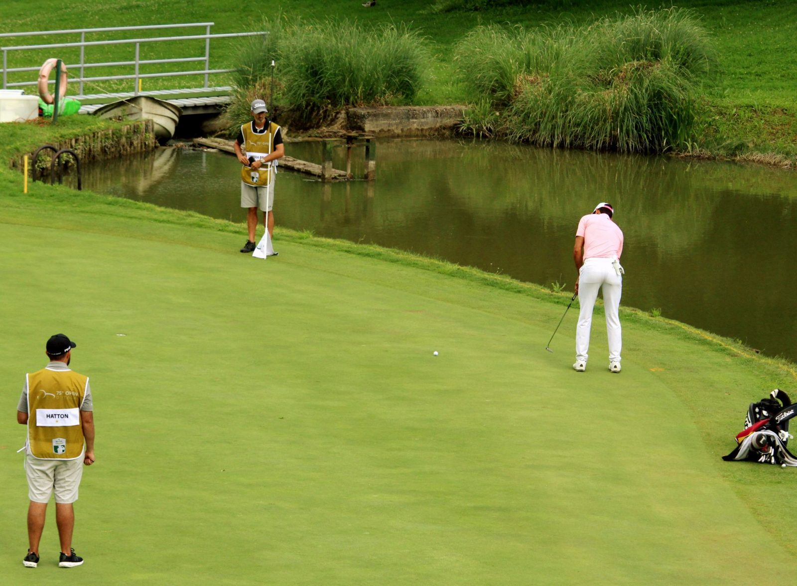 Rafa Cabrera Bello 12th green