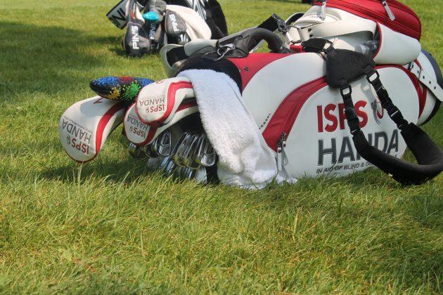 Thornbjorn Olesen golf bag