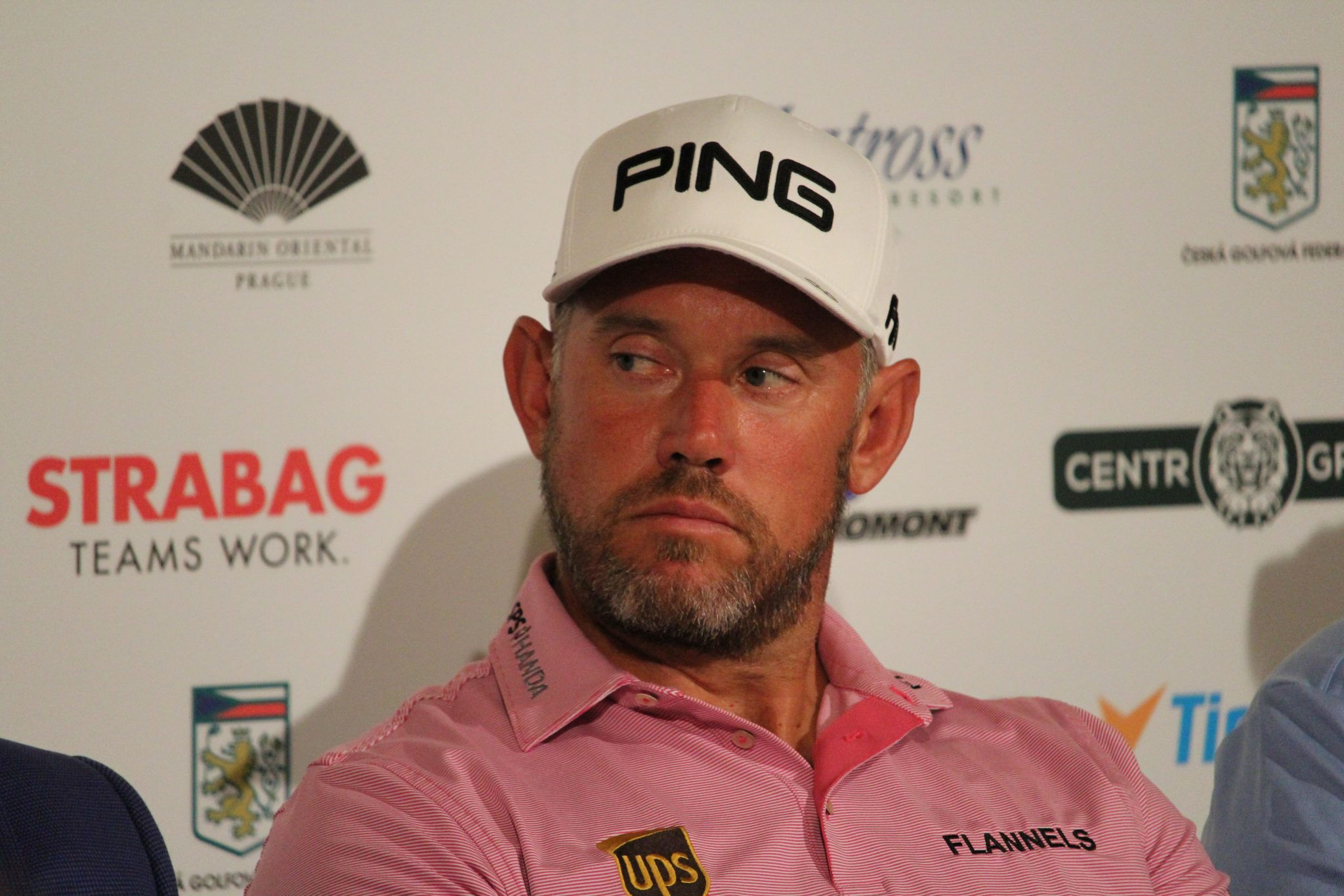 Lee Westwood press conference