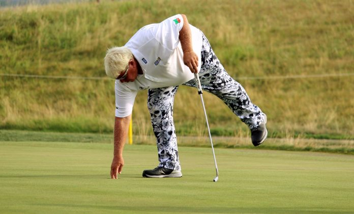 John Daly on the green