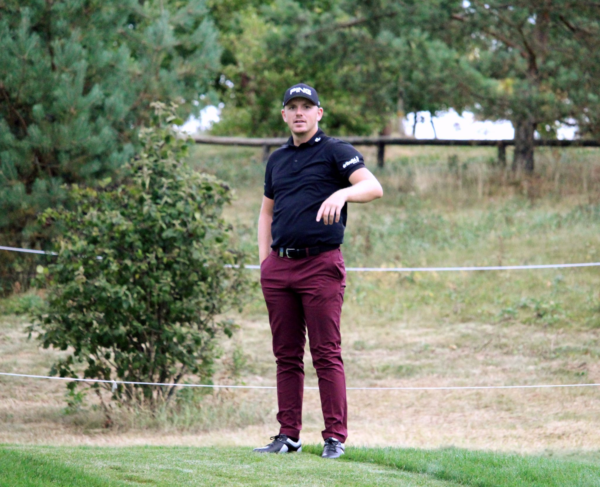 Matt Wallace and Marcus Fraser lead in Scotland