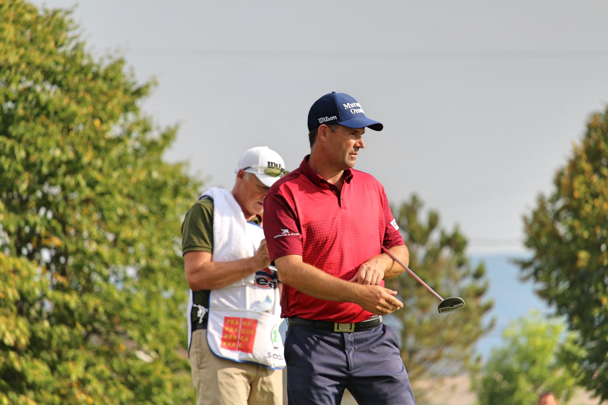 Padraig Harrington during the 2018 D+D Real Czech Masters