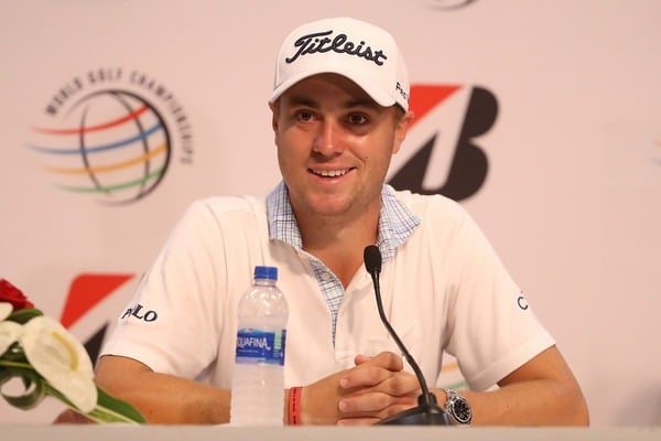 Justin Thomas won WGC-Bridgestone Invitational