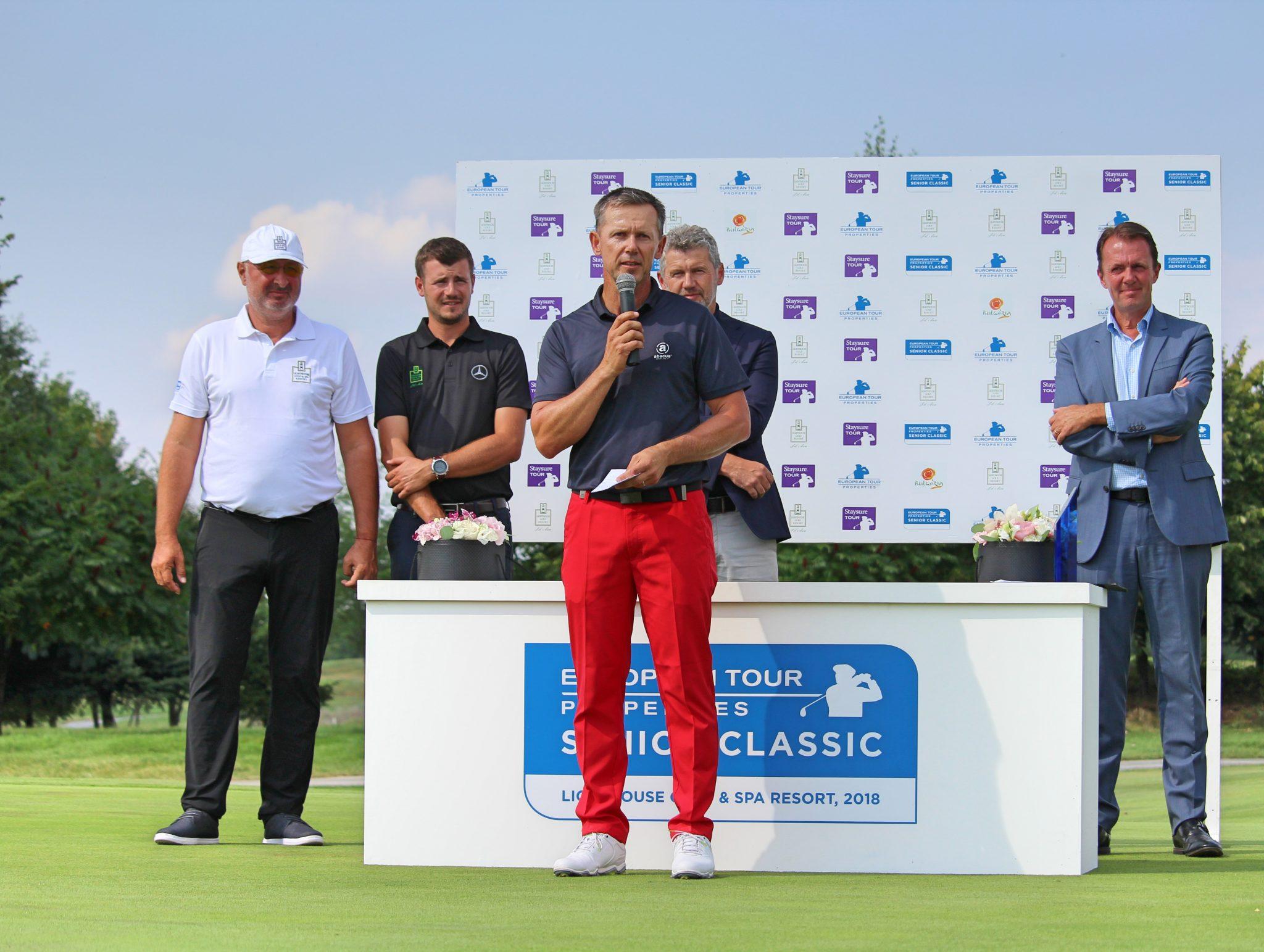 Magnus P Atlevi won European Tour Properties Senior Classic