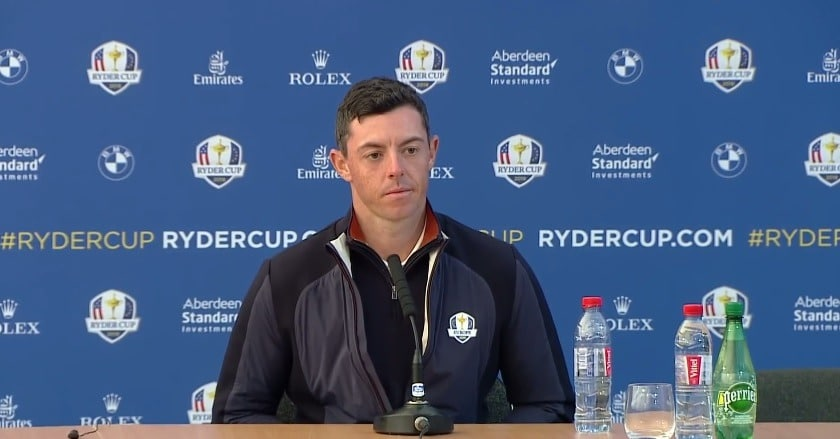 McIlroy and Thomas to open Sunday singles in 42nd Ryder Cup