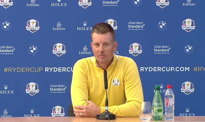 Europe leads by 4 before Ryder Cup Sunday