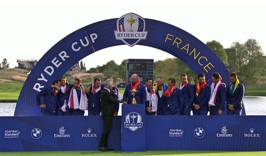Team Europea Ryder Cup