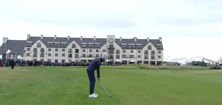 Tommy Fleetwood at alfreddunhill links championship