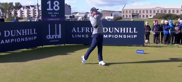 Tyrell Hatton at the Alfred Dunhill Links Championship