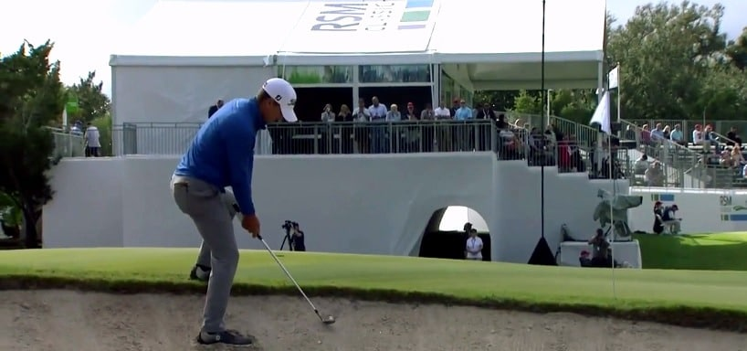 Charles Howell from the bunker