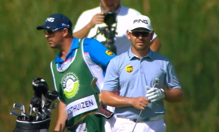 Louis Oosthuizen from South Africa