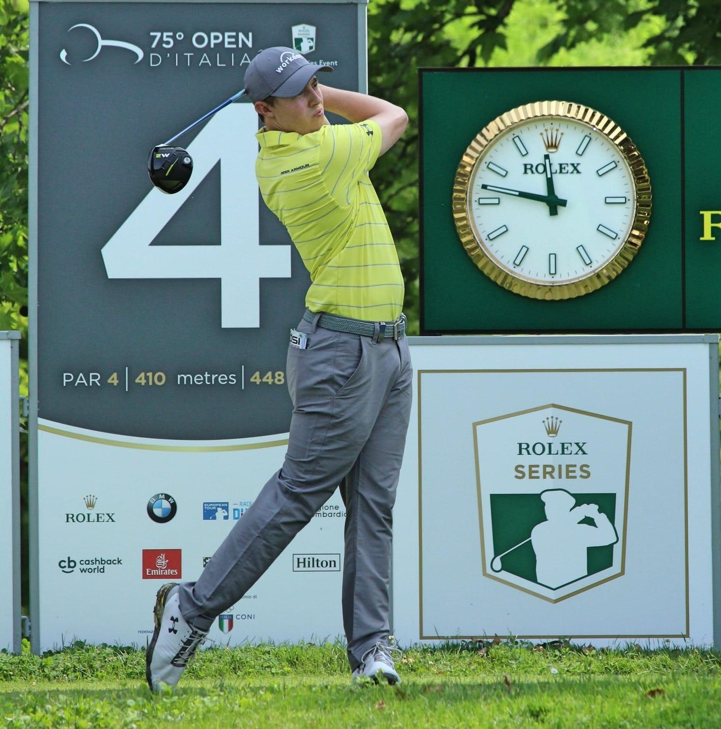 Matthew Fitzpatrick at the Italian Open