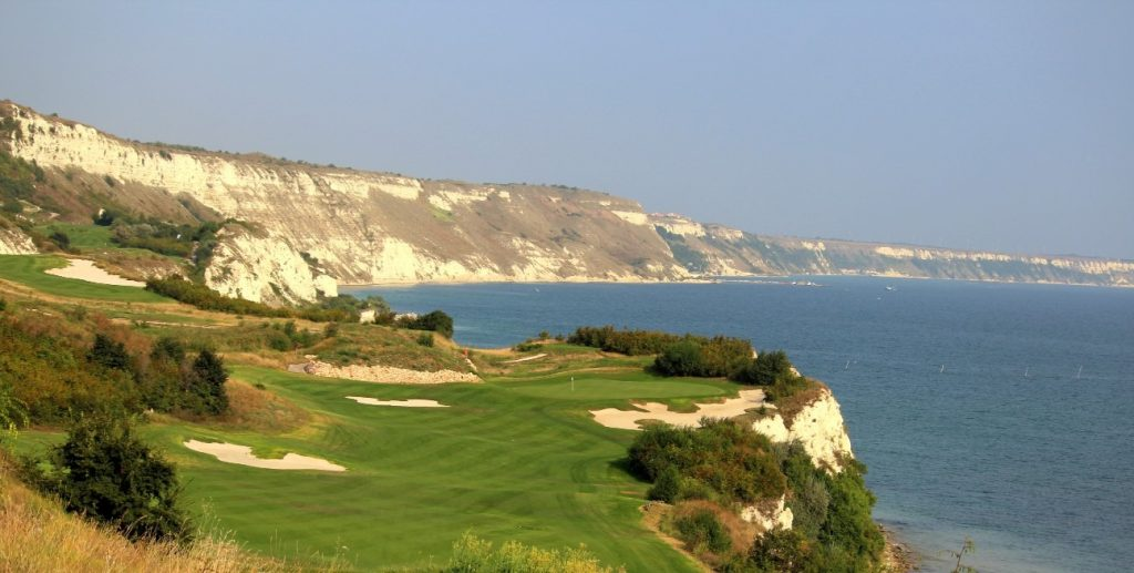 Amazing Cape Kaliakra view at Thracian Cliffs
