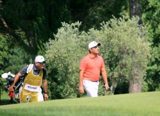Francesco Molinari during the 2018 Italian Open at Garda Golf