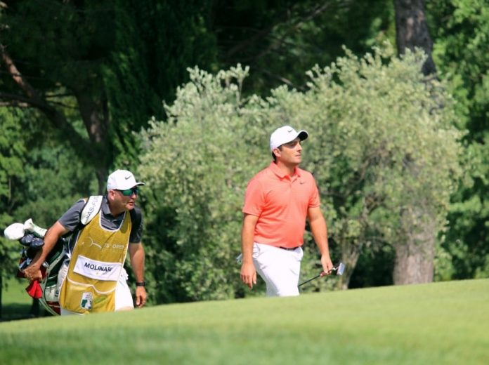 Francesco Molinari during the 2018 Italian Open at Garda Golf