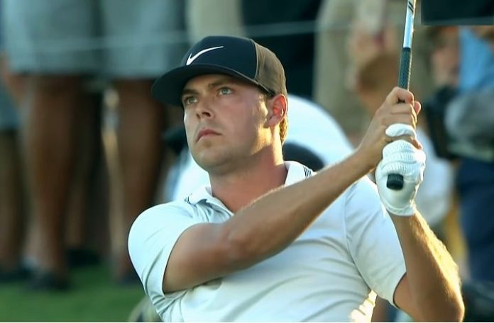 Keith Mitchell during the final round of The Honda Classic