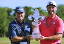 Jon Rahm and Ryan Palmer