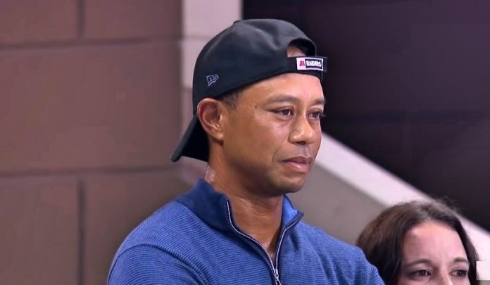 Tiger Woods during the US. Open
