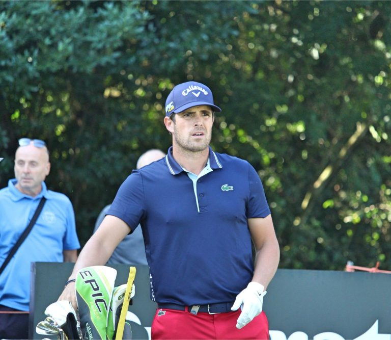 Nacho Elvira and Vincent Norrman share the lead at Cazoo Open