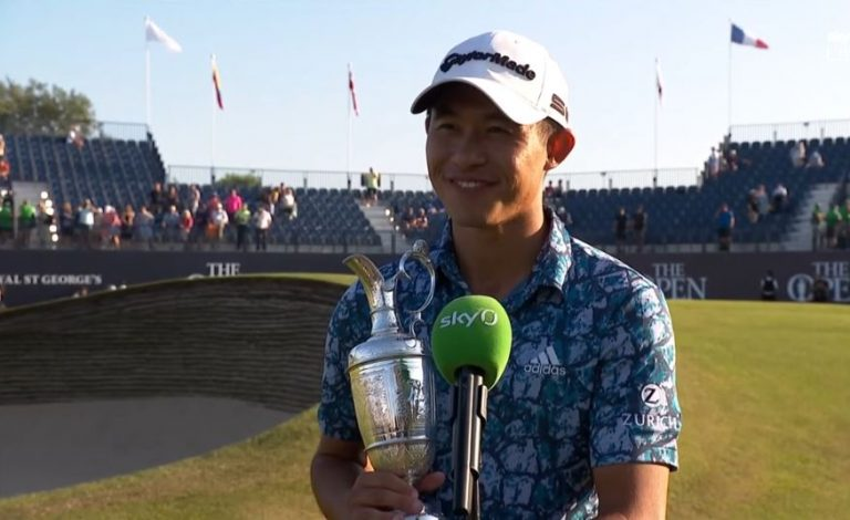How much money each golfer won at the 2021 Open Championship